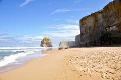 Punti di Gibson ed i dodici Apostoles, Australia Fotografie Stock