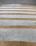 Punti di Mable con le balaustre inossidabili immagine stock libera da diritti