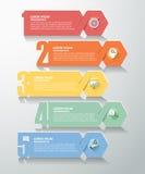 Punti di opzione 5 di numero di progettazione Fotografia Stock Libera da Diritti