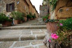 Punti di Pienza, Italia fotografia stock