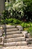 Punti di pietra naturali Fotografie Stock
