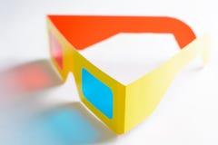 Punti di realtà virtuale nel telaio giallo Fotografia Stock