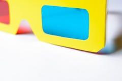 Punti di realtà virtuale nel telaio giallo Fotografie Stock