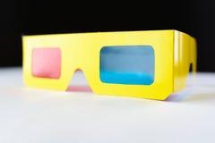 Punti di realtà virtuale nel telaio giallo Fotografia Stock Libera da Diritti