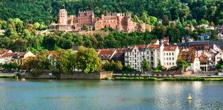 Punti di riferimento città della Germania, Heidelberg Fotografia Stock
