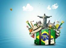 Punti di riferimento del Brasile, Brasile fotografie stock libere da diritti