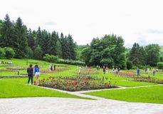 Punti di riferimento del parco in Kislovodsk Fotografie Stock