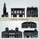 Punti di riferimento di Aalborg Immagine Stock Libera da Diritti