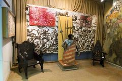 Punti di riferimento di Alba Iulia - museo del sindacato Fotografia Stock