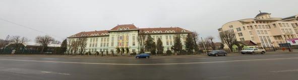 Punti di riferimento di Alba Iulia - università ortodossa teologica Immagine Stock