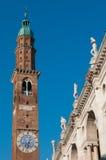 Punti di riferimento di Vicenza Fotografia Stock Libera da Diritti