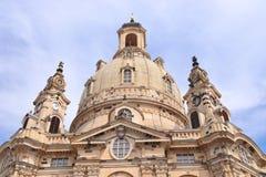 Punti di riferimento di Dresda fotografie stock