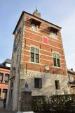Punti di riferimento famosi Belgio: Torre di Zimmer Immagini Stock