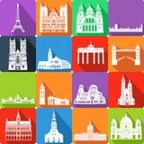 Punti di riferimento, illustrazione di vettore royalty illustrazione gratis