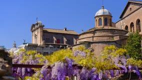 Punti di riferimento a Roma, Italia fotografia stock libera da diritti