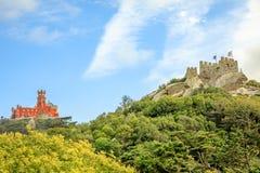Punti di riferimento in Sintra immagini stock libere da diritti