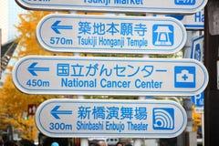 Punti di riferimento di Tokyo Fotografia Stock
