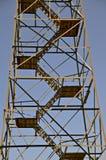 Punti di una torre dell'allerta del fuoco Immagine Stock
