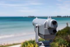 Punti di vista binoculari del fatato della porta Fotografia Stock