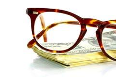 Punti e soldi fotografie stock libere da diritti