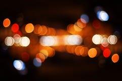 Punti luminosi di via Immagine Stock