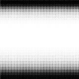 Punti moderni del nero di semitono del progettista su bianco illustrazione vettoriale