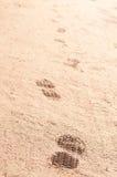 Punti nella sabbia Fotografia Stock Libera da Diritti