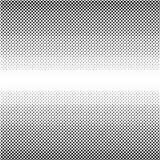 Punti neri di semitono di vettore Fotografia Stock