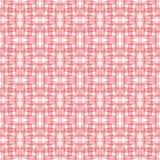 Punti protetti rossi del quadro televisivo su fondo bianco, modello astratto semplice royalty illustrazione gratis