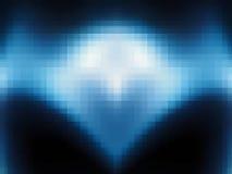 Punti quadrati astratti del blu del fondo Immagini Stock