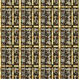 Punti senza cuciture del leopardo del modello di lerciume scozzese del tartan tartan con stile del leopardo ENV 10 illustrazione di stock