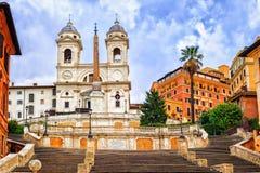 Punti spagnoli, Roma, Italia Fotografie Stock Libere da Diritti
