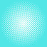 Punti su Azure Background, schiocco Art Background Fotografia Stock