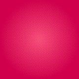 Punti su fondo rosa, schiocco Art Background Fotografie Stock