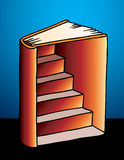 Punti sul libro Immagini Stock