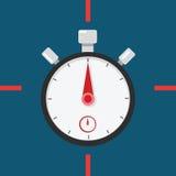 Punti sul temporizzatore del cronometro Immagine Stock Libera da Diritti