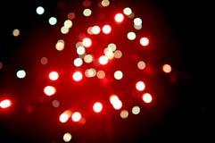 Punti vaghi del fuoco d'artificio Fotografia Stock Libera da Diritti