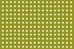 Punti verdi Fotografia Stock