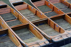 Punting boats Royalty Free Stock Images