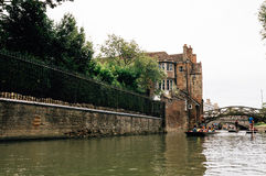 Punting in Cambridge Royalty Free Stock Photography