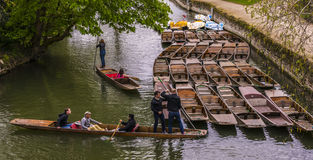 Punting in Oxford Royalty Free Stock Images