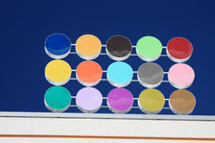 Puntini colorati Immagini Stock