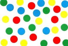 Puntini colorati Fotografia Stock Libera da Diritti