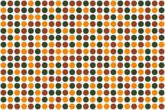Puntini, colori di autunno illustrazione vettoriale