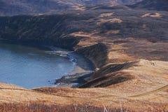 Punto Alaska della sabbia Fotografie Stock Libere da Diritti