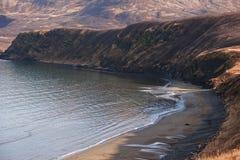 Punto Alaska della sabbia Immagini Stock Libere da Diritti