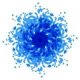 Punto azul abstracto fondos Imágenes de archivo libres de regalías