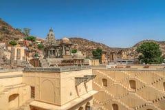 Punto-bene di Kund del Ka di Panna Meena, Jaipur, Ragiastan, India immagini stock