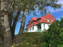 Punto Betsie en la colina Fotografía de archivo libre de regalías