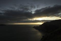 Punto Bonita en la puesta del sol Foto de archivo libre de regalías